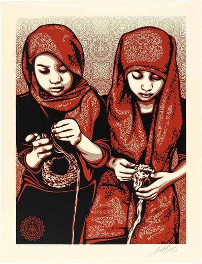 Shepard Fairey, 'Close Knit', 2009