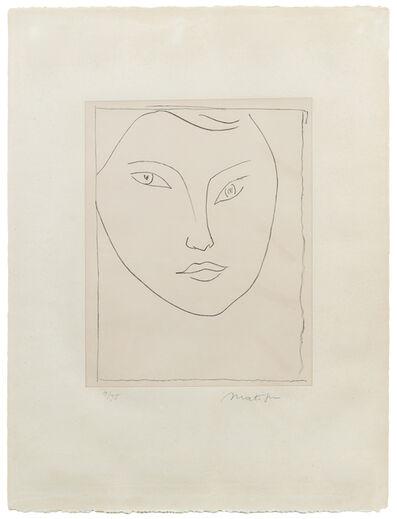 Henri Matisse, 'Portrait de Claude D.', 1946