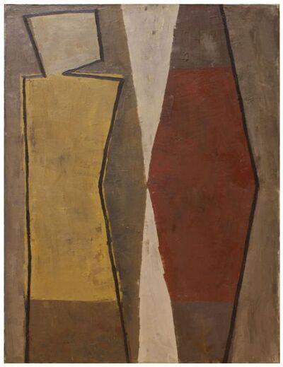 Anke Blaue, 'Abstract figure', 1991