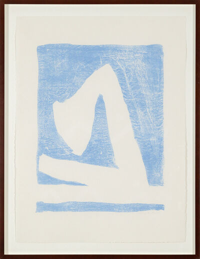 Robert Motherwell, 'Summertime in Italy, with Blue', 1965-1966