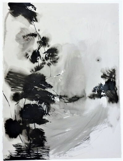Teresa Pera, 'Without Title, abstract inkdrawing on paper', 2011