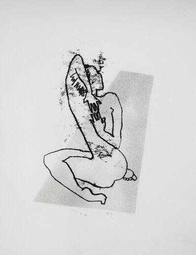 Judy Clark, 'Second Position on the Mat'