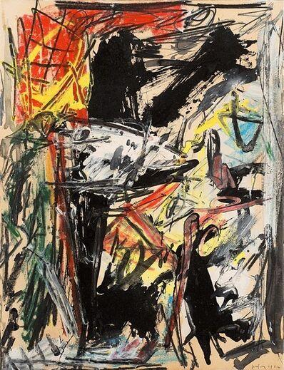 Emilio Vedova, 'Studio per sopraffazione n. 1', 1962