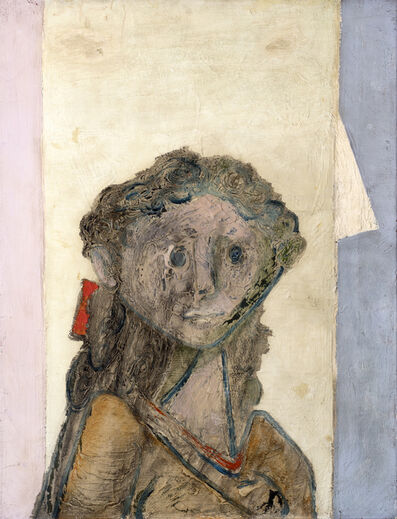 Jankel Adler, 'Girl's Head', ca. 1940
