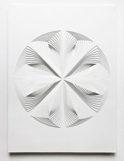 Elizabeth Gregory-Gruen, 'Free Hand Cutwork: 'Multi-Circle Reflection'', 2021