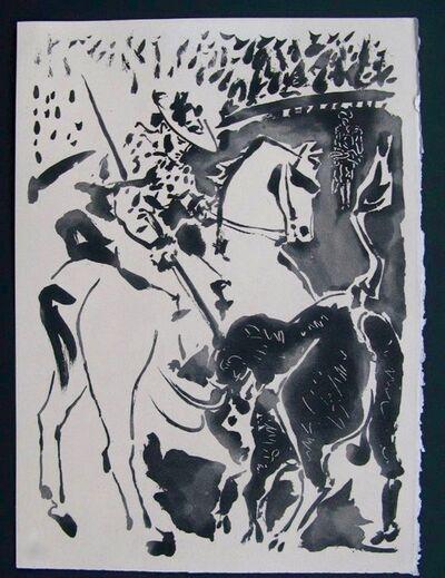 """Pablo Picasso, 'Picador et Taureau, from """"Le Carmen des Carmen""""', 1949"""