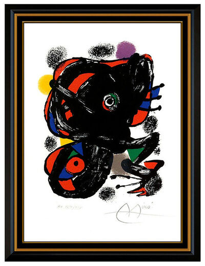 Joan Miró, 'XXe Siecle No. 46 (m. 1106)', 1976