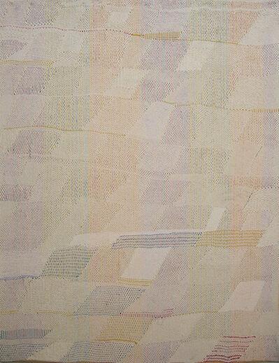 TERESA LANCETA, 'El blanco sobbre el azul, el amarillo y el rojo II', 2007