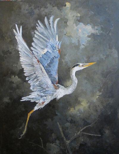 John Alexander, 'Great Heron', 2014