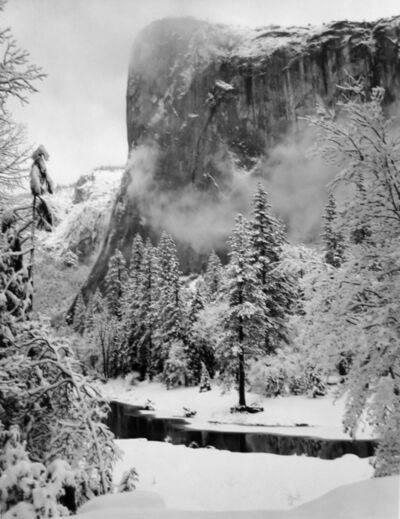 Ansel Adams, 'El Capitan, Winter, Yosemite National Park', 1952