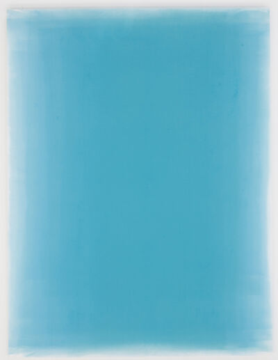Taek Sang Kim, 'Breathing light-Turquoise', 2016
