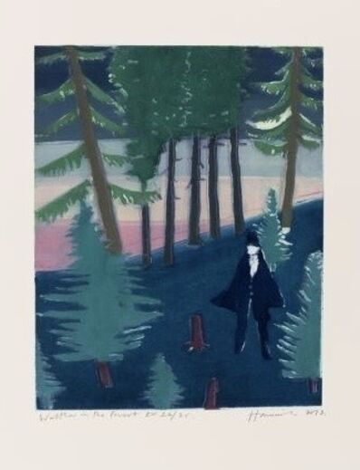 Tom Hammick, 'Walter in the Forest', 2015