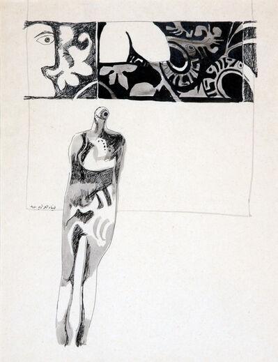 Dia Azzawi, 'Untitled II', 1970