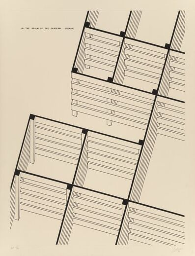 Robert Morris (b. 1931), 'Stockade', 1979