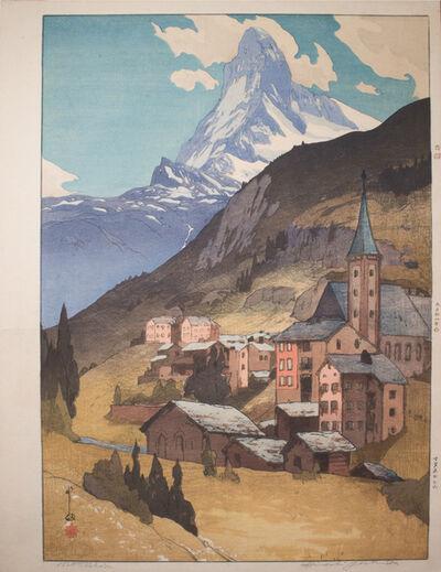 Yoshida Hiroshi, 'Matterhorn', 1925