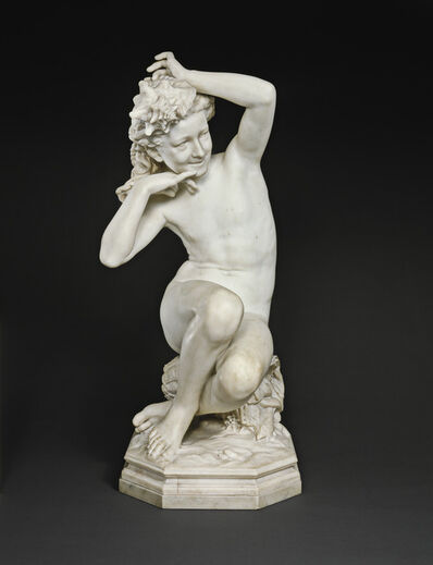 Jean-Baptiste Carpeaux, 'Girl with a Shell (Jeune fille à la coquille)', 1863-1867