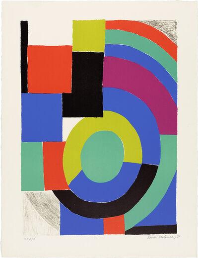 Sonia Delaunay, 'La Verte', 1970