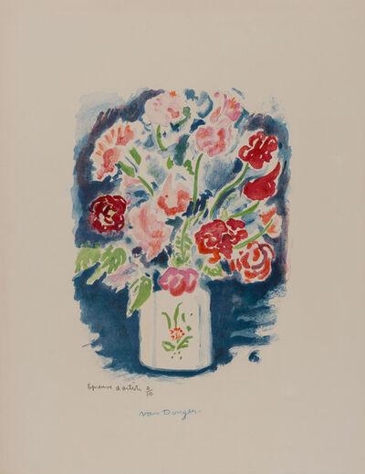 Kees van Dongen, 'POIS DE SENTEUR (COULEURS DE PARIS) (JUFFERMANS JL 40)', 1963