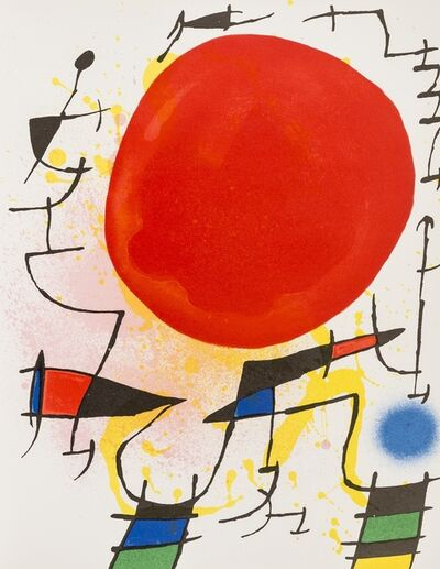 Joan Miró, 'Lithographies I (Mourlot 854, 857-867)', 1972
