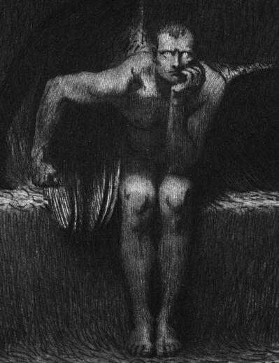 Franz von Stuck, 'Lucifer', 1889
