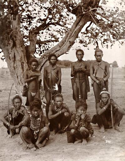 Felice Beato, 'Wa Tribesmen', 1880s/1890s