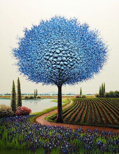 Mario Jung, 'Blue Over Me ', 2019