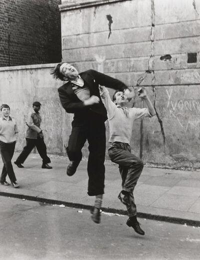 Roger Mayne, 'Footballers, Southam Street, North Kensington, London', 1958