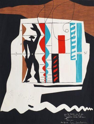 Le Corbusier, 'Modulor [Weber 58]', 1950/56