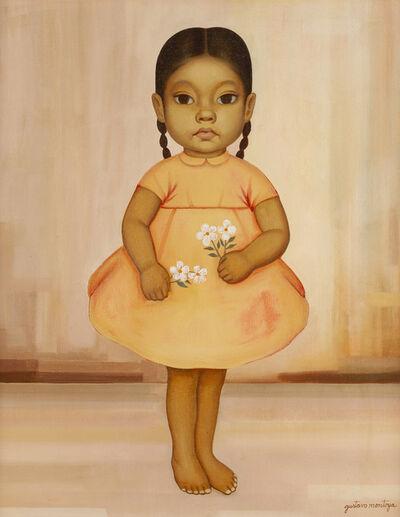 Gustavo Montoya, 'Girl in Pink Dress'
