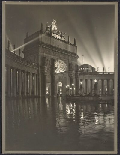Willard Worden, 'The Arch of the Rising Sun at Night', 1915