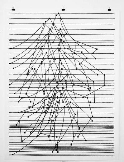 Carlos Amorales, 'Notaciones para música de computadora, 02', 2015