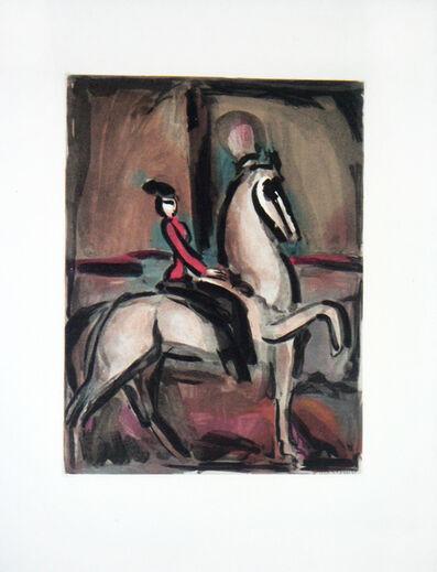 Georges Rouault, 'Cirque – Amazone', 1930