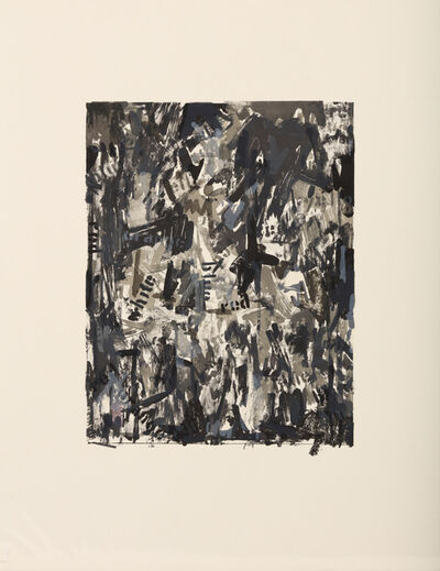 Jasper Johns, 'False Start II', 1962