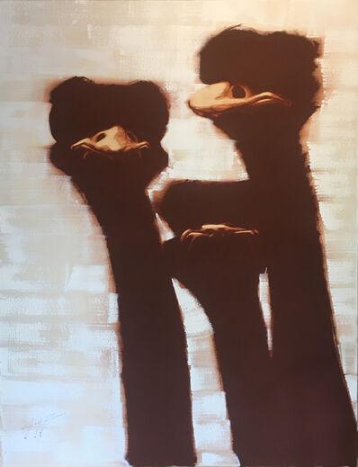 Josh Brown, 'Three Ostriches ', 2020