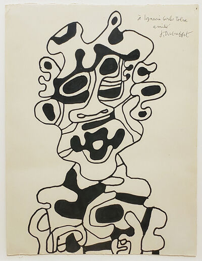 Jean Dubuffet, 'Personnage (buste)', 1967