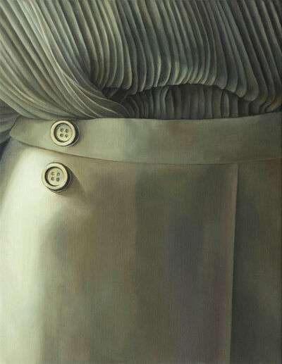 Lia Kazakou, 'Two Buttons', 2019