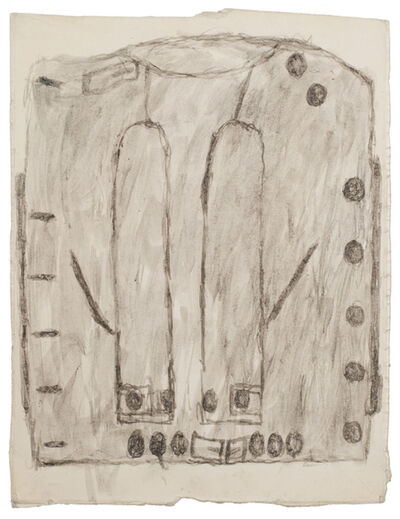 James Castle, 'Untitled (Straight jacket drawing)', n.d.