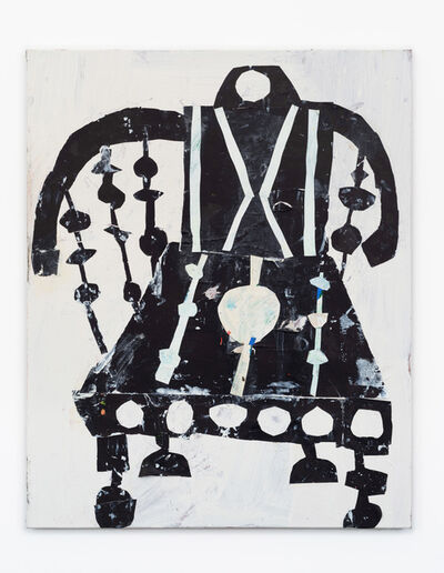 Florence Hutchings, 'Backgammon Chair (Black)', 2021