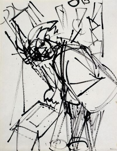 Hans Hofmann, 'Self Portrait', ca. 1935