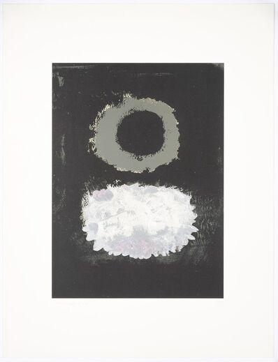 Adolph Gottlieb, 'Black Field', 1972