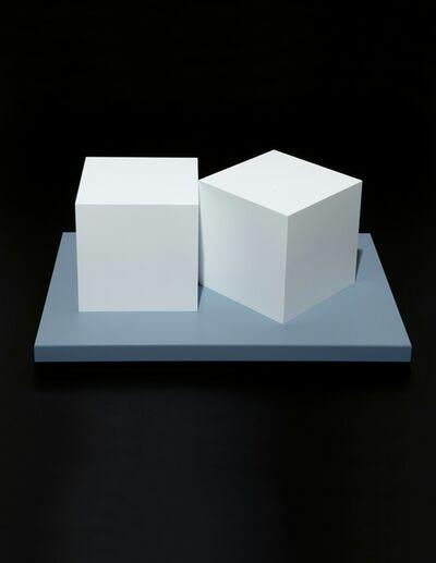 Sol LeWitt, 'Two Cubes', 2005