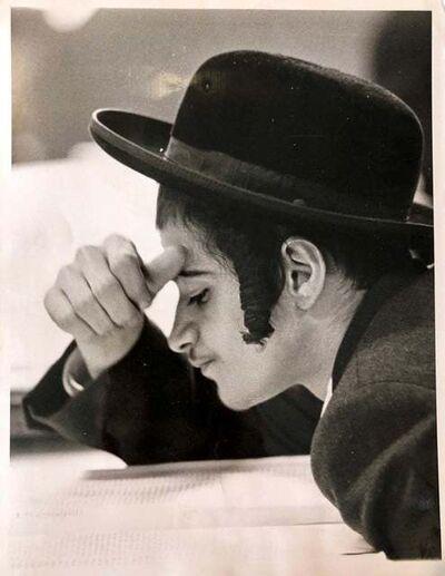 Unknown, 'Vintage Silver Gelatin Photograph Chabad Lubavitch Judaica Jewish Press Photo', 1960-1969