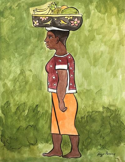 Diego Rivera, 'Vendedora de Frutas', 20th Century