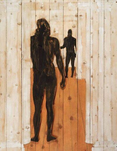 Mario Ceroli, 'Bronzi di Riace', 1992