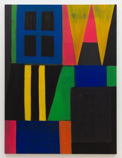 John Finneran, 'Green Light in the Blue Window', 2019