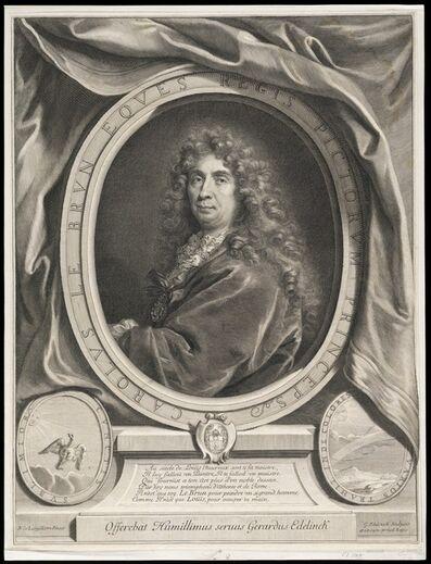 Nicolas de Largillièrre, 'Carolus Le Brun eques regis pictorum princeps', 1684