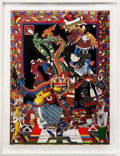 David Gremard Romero, 'Mito de Quetzalcóatl II', 2018