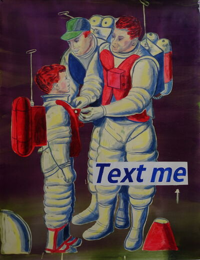 Graham Gillmore, 'Text Me', 2015