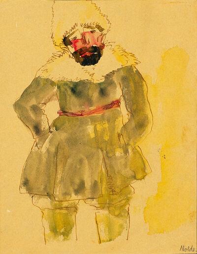 Emil Nolde, 'Stehender Sibirier (Standing Sibirian) ', 1913