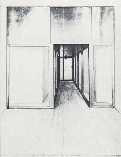 Javacheff Christo, 'Monuments, Store Front Corridor', Unknown